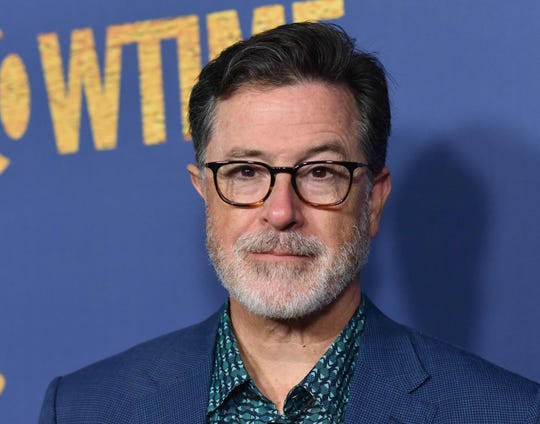 US comedian and television host Stephen Colbert attends the Showtime Emmy Eve Nominees Celebration in Los Angeles on September 16, 2018.