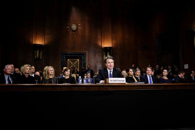 Supreme Court nominee Judge Brett Kavanaugh testifies, Sept. 27, 2018, Washington, D.C.