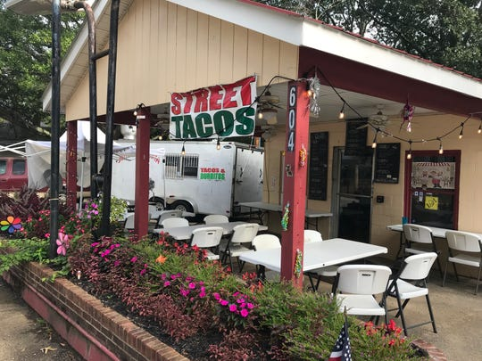 Street Tacos, using an old gas station as its headquarters.