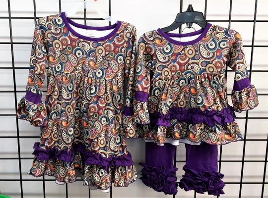 Kids B'Dazzled includes a line of clothing designed by owner Mary Byrd