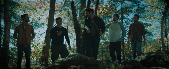 """Stillwater"" is the story of a group of men who were friends in high school. They go on a camping trip, one of them ends up dead, and chaos ensues."
