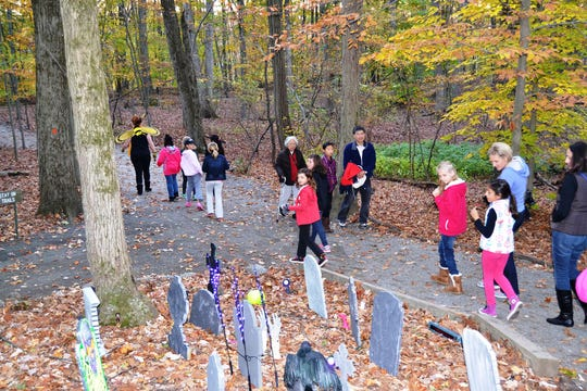 Trail Tales, offered by Morris County Park Commission, offers a tingle of spookiness.