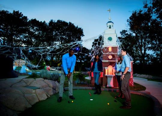 Play Spooky Mini Golf at Franklin Square in Philadelphia