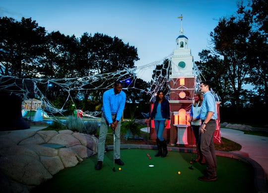 Play Spooky Mini Golf at Franklin Square in Philadelphia