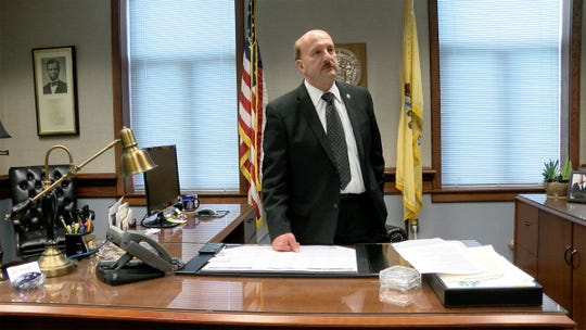 As his term draws to a close, Ocean County Prosecutor Joseph Coronato is shown after an interview at his Toms River office Wednesday, September 26, 2018.