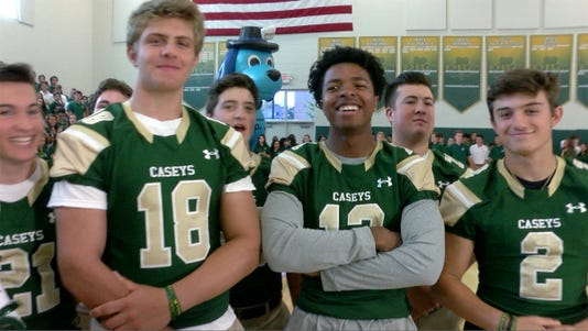 Red Zone Road Show At Red Bank Catholic