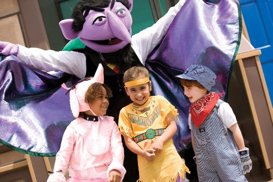 The Count reigns over Halloween at Sesame Place.