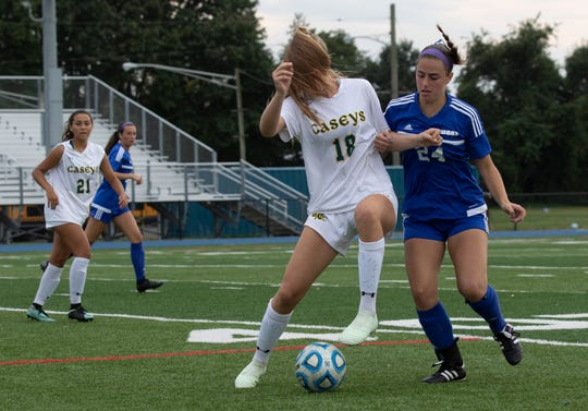 Red Bank Catholic Girls Soccer vs Shore Regional in West Long Branch, NJ on October 2, 1018.