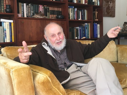 Arthur Ashkin, a Rumson resident awarded the Nobel Prize for physics on Tuesday, discusses his career.
