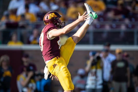 Former Lakeview standout Jacob Herbers has taken over the starting punting job at the University of Minnesota.