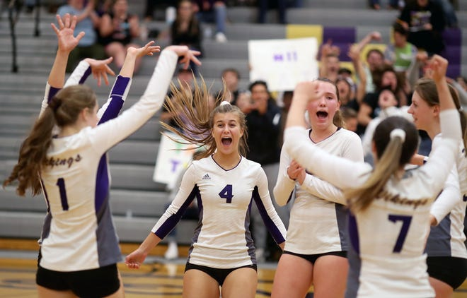 North Kitsap's volleyball team debuted at No. 1 in the Washington State Coaches Association Class 2A volleyball rankings this week.