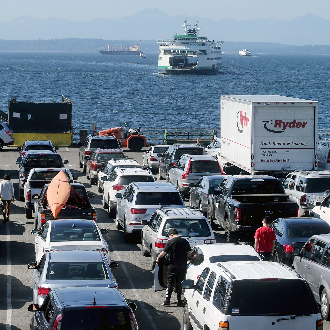 Plan ahead for ferry schedule shift