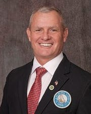 Tim Thomas is a Melbourne City Councilman and the head of the ROTC program at Viera High School.