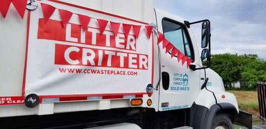 The Litter Critter lets residents dispose of brush and bulky items over a weekend. The city will drop off a Solid Waste Department truck Friday and will pick up the truck Monday.