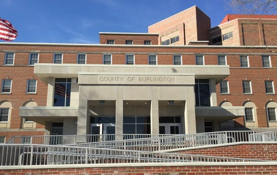 A Burlington Township man has sued Burlington County's corrections department, alleging he was beaten by officers in the county jail in Mount Holly.