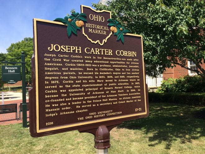Getting a historical marker for Chillicothe native Joseph Carter Corbin has been in the works for three years. Getting a historical marker for Chillicothe native Joseph Carter Corbin has been in the works for three years.