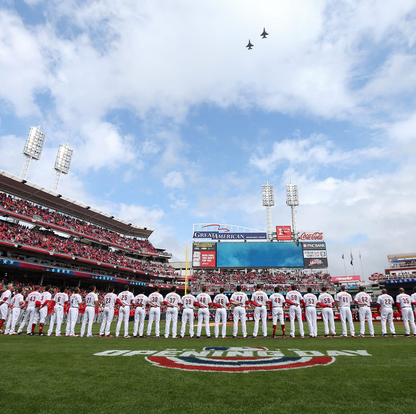 Cincinnati Reds announce Opening Day lineup for the 150th season of pro baseball
