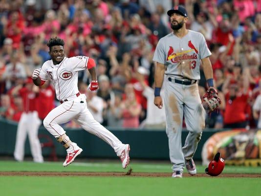 072318 Reds Cincinnati Reds Vs St Louis Cardinals Baseball 7 23 18