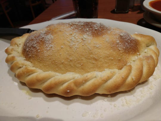 Golden Crust Calzone at Noah's Ark