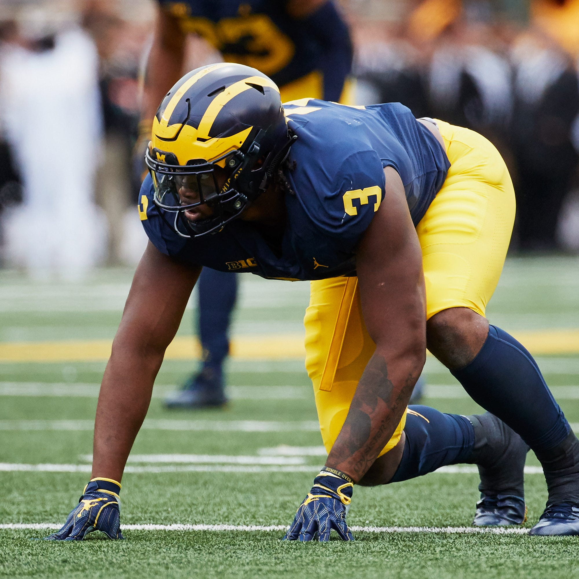 Michigan football DL Rashan Gary drafted by Green Bay Packers at No. 12