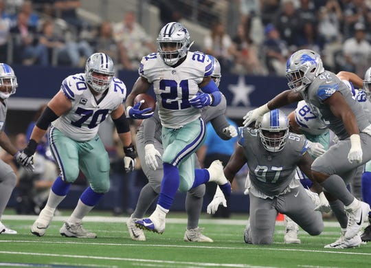 Win over the Lions or not, Cowboys don't have much on offense beyond Ezekiel Elliott.