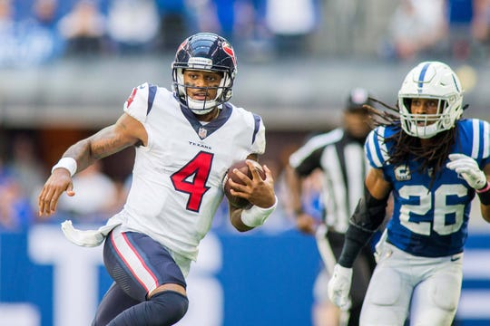 25. Texans (1-3) | Last game: Defeated the Colts, 37-34 (OT) | Previous ranking: 30 | The buzz: DeShaun Watson finally starting to look like the pre-injury version of himself.