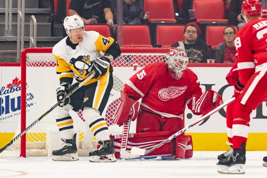 The goal is to give Red Wings goalie Jimmy Howard a few more breaks than he had last year so he doesn't wear out by the second half of the season.