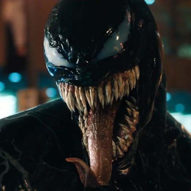 Review: 'Venom' a campy comic book throwback