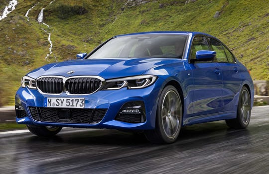 BMW's all-new seventh-generation 3-Series.