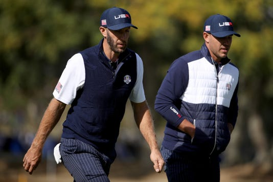 2018 Ryder Cup Afternoon Foursome Matches