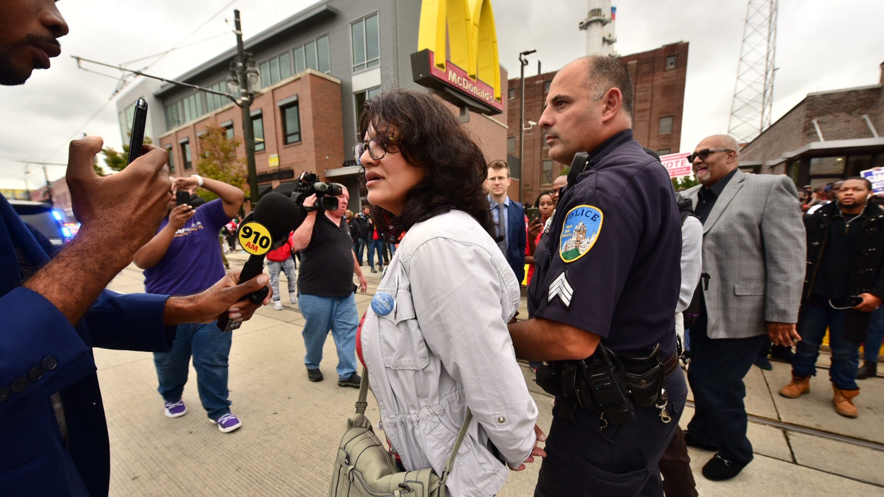 Image result for rashida tlaib being thrown out