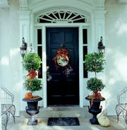 A lovely exterior display is a friendly wave to passersby and a warm welcome to guests.