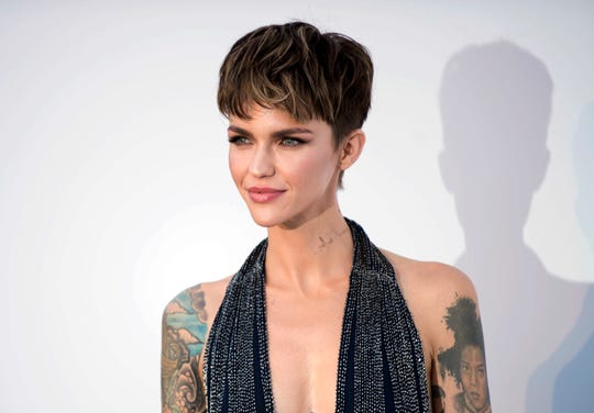 Model and actor Ruby Rose has been named one of the most dangerous celebrities on the internet because she's the most likely to land users on websites that carry viruses or malware.)