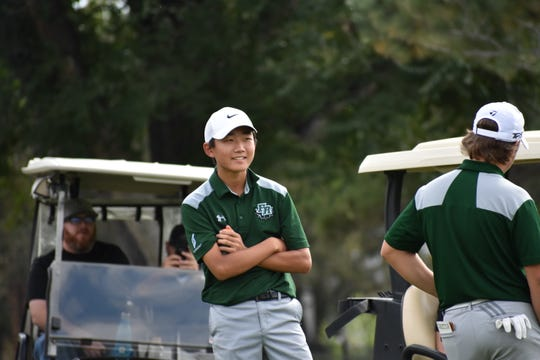 The Fossil Ridge boys golf team goes for back-to-back state titles at the 5A tournament on Monday and Tuesday.