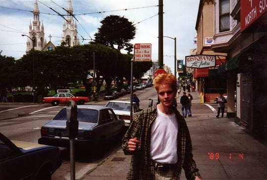 Matthew Shepard in 1989.