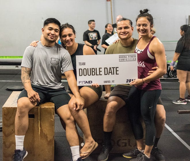 Team Double Date of United Fit, comprising Kent Silva, Taylor Crisostomo, FJ Chargualaf and Ivee Ilao won first place the performance division of the General Fitness Competition held Sept. 29-30.