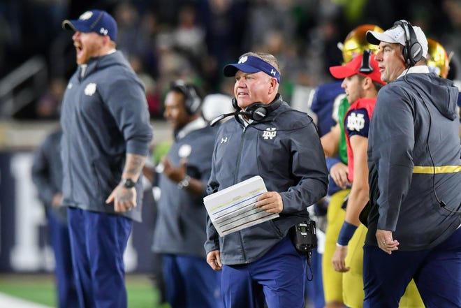 After defeating Stanford on Saturday, Notre Dame head coach Brian Kelly and his Fighting Irish seem to have a fairly easy path to the College Football Playoff.  But is it too easy?