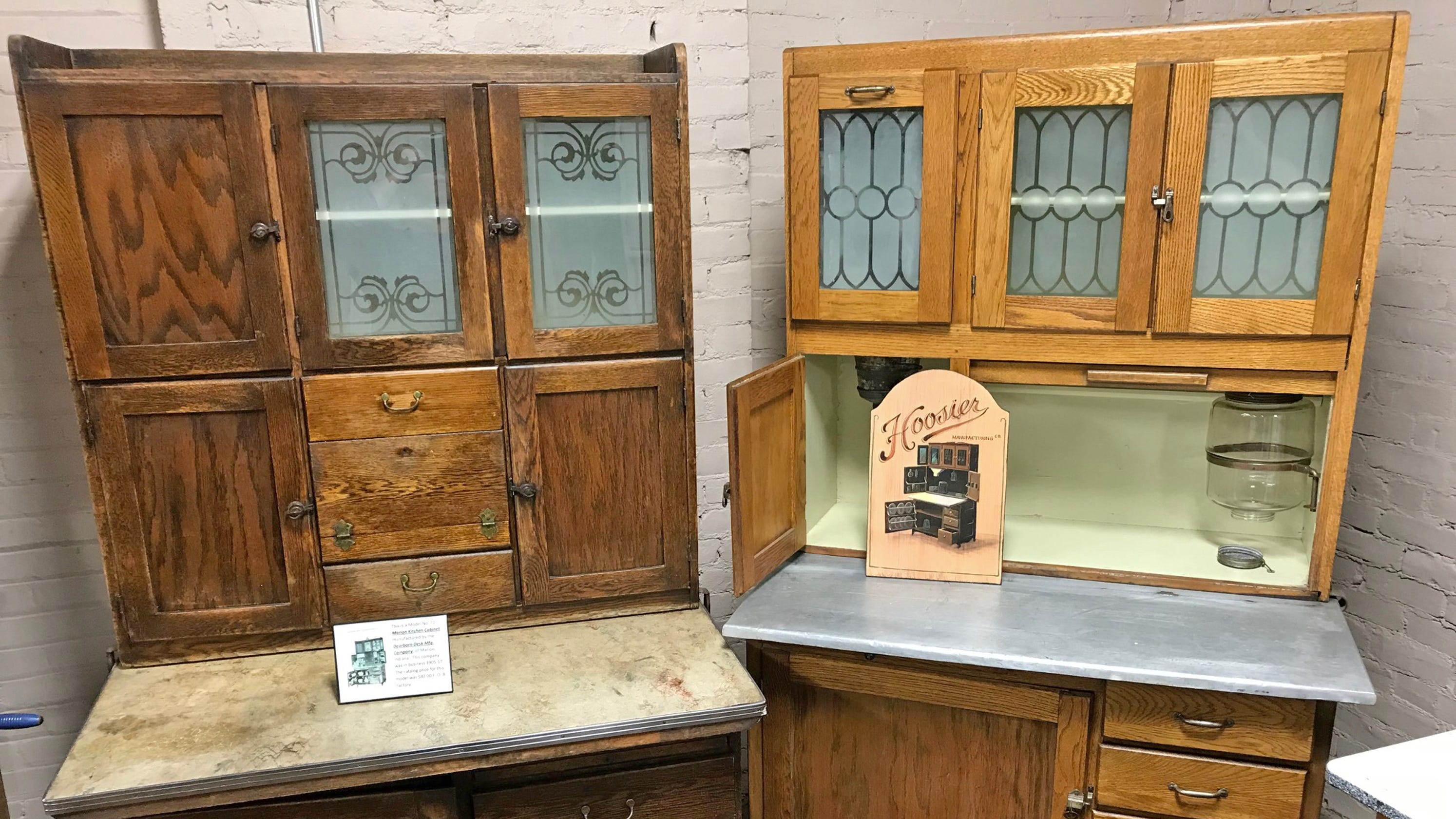 How The Hoosier Kitchen Cabinet Saved Miles Of Steps