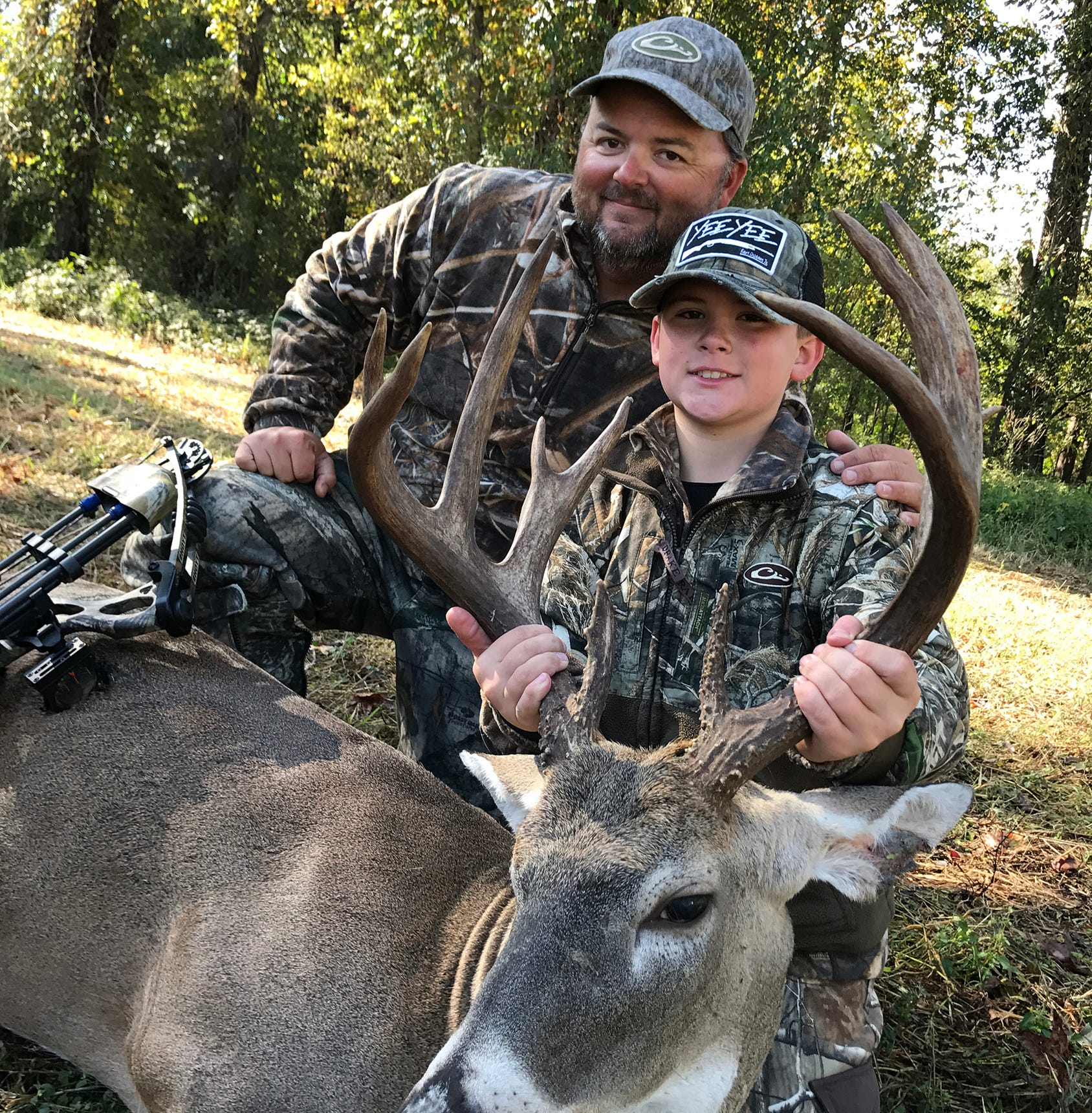 Your young hunter can win a Mission Craze II bow or prepaid debit cards in the Clarion Ledger Outdoors Youth Deer Hunter Photo Contest sponsored by B&B Archery.