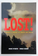 Cover of a book written by retired GSMNP ranger Dwight McCarter. McCarter worked the case of the disappearance of Dennis Martin, a 6-year-old last seen on June 14, 1969.