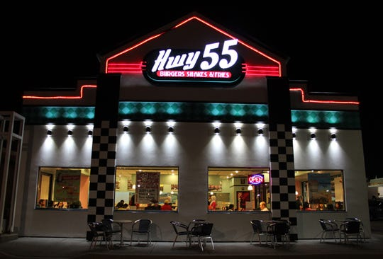 Highway 55 Burgers, Shakes and Fries has opened in Oak Ridge and is coming to Knoxville.