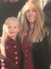 Lisa Guise-Hansen and her daughter, Sedona.
