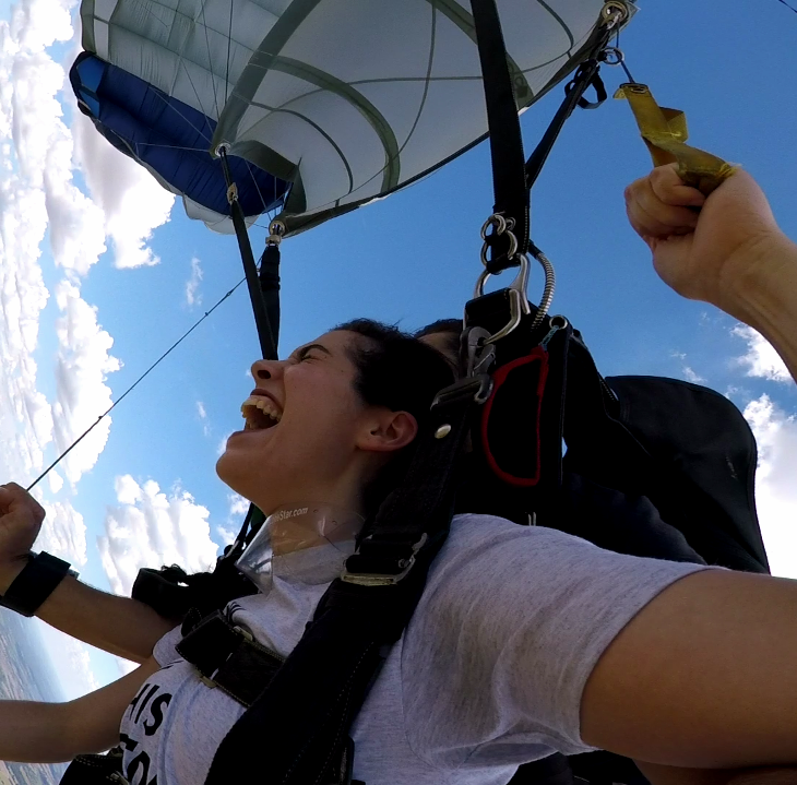 Army vet opens local skydiving biz after oil field drops