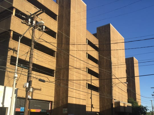 The Buchanan Street parking garage, owned by the parish, was shut down in October for safety reasons.