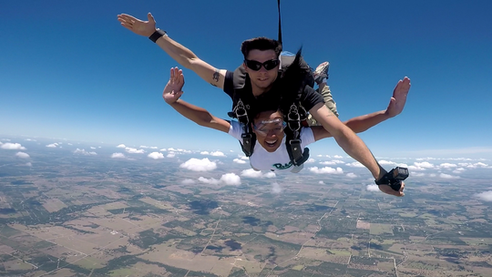 Cajun Skydiving is offering the adventure of a lifetime to residents of Acadiana