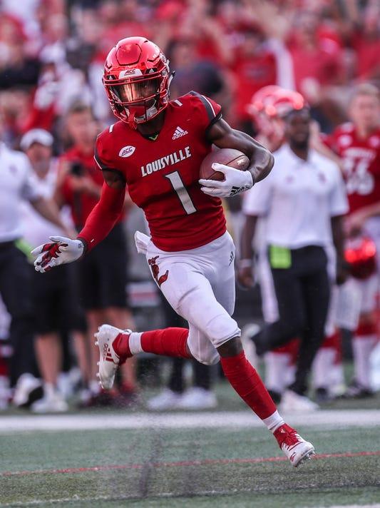 Louisville wide receiver TuTu Atwell