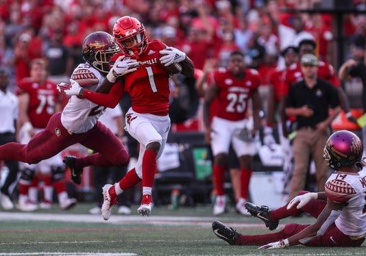 Louisville's Tutu Atwell 53-yard run
