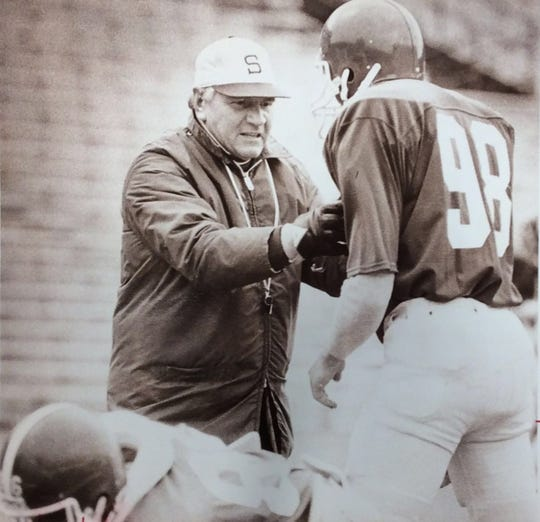 Former Michigan State football coach George Perles always made a point to try to get the most out of even the most troubled of players.