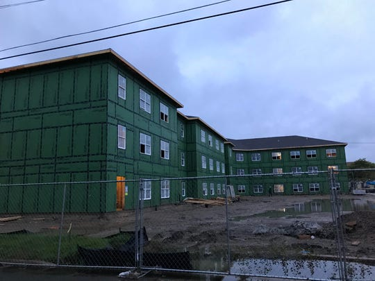 Construction of a $7.4 million development, dubbed Edmond Senior Apartments by its developer Indianapolis-based TWG Development, began in the spring in the 200 block of South Washington Street in Charlotte.