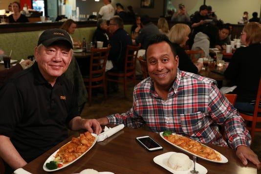 Ali Khan and Eddie Pao